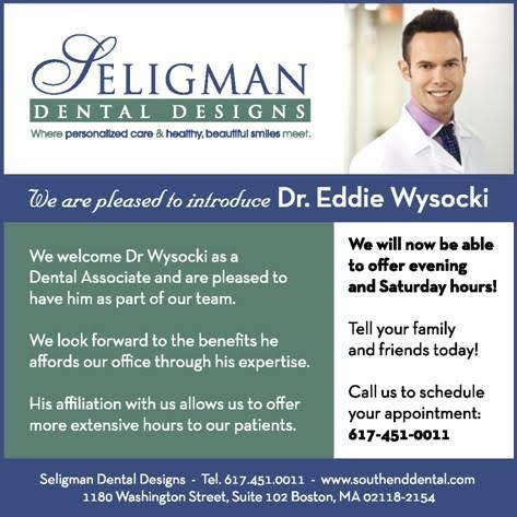 Seligman Dental Design New Dental Associate and Hours eblast