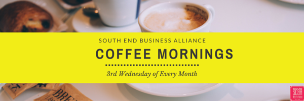 SEBA Coffee Morning: Every 3rd Wednesday at The Buttery