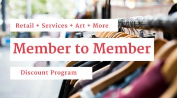 Member to Member Discount Program