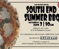 June 3rd, 10:00 AM – 1:00 PM: USES 2nd Annual South End Summer Barbecue
