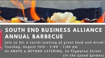 August 15th, 5 – 7 PM: SEBA's Annual BBQ