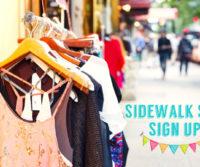 The Annual South End Sidewalk Sale